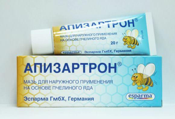 мазь на основе пчелиного яда