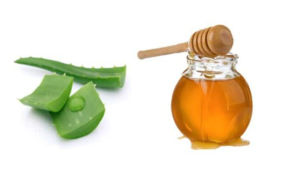 мед и алоэ